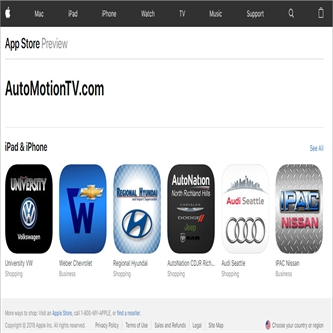 AutoMotionTV/Cinemotion Mobile App and Backend