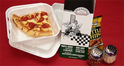 Frankie's Pizza Food Photo Shoot